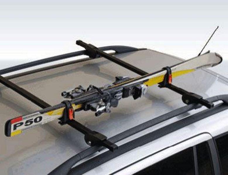 Перевозка лыж на крыше авто своими руками