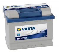 Аккумулятор Varta Blue Dynamic 60 А/ч (D43)